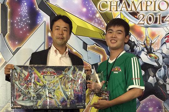 Asia Champion 2014 - Calvin Ang