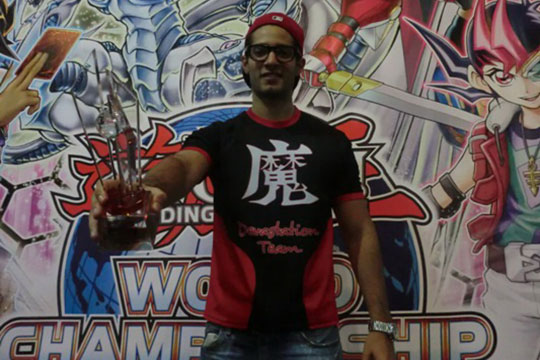 Central America Champion 2014 - Jose Lagunes