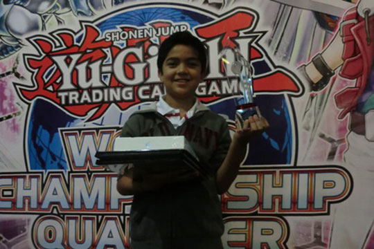 Central America Dragon Duel Champion 2014 - Ivan Enrique de Jesus