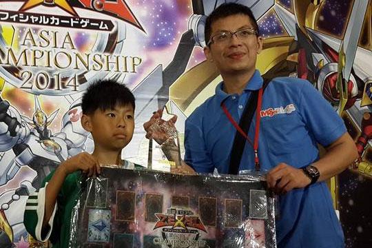 Taiwan Dragon Duel Champion 2014 - Yu Guan Lin