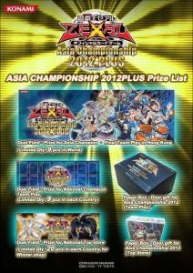 Asia Championship Plus 2012