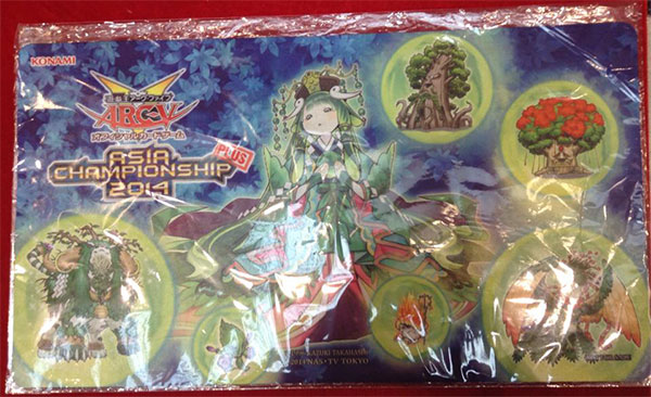 Asia Championship Plus 2014 Playmat