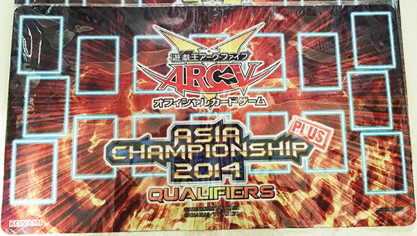 Asia Championship Plus Qualifier 2014 Playmat