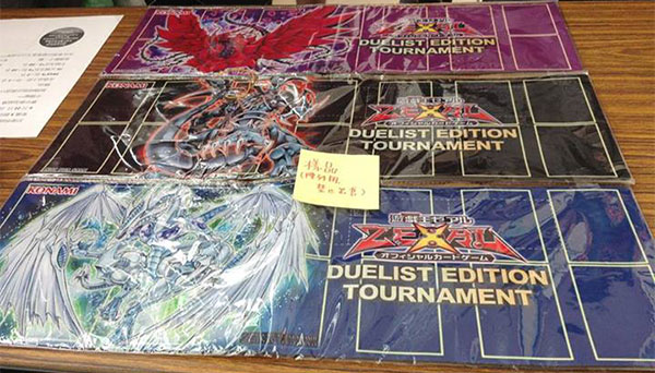 Duelist Edition Ranking Tournament Playmats