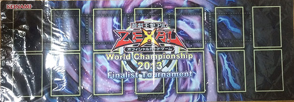 World Championship 2013 Finalist Tournament Playmat