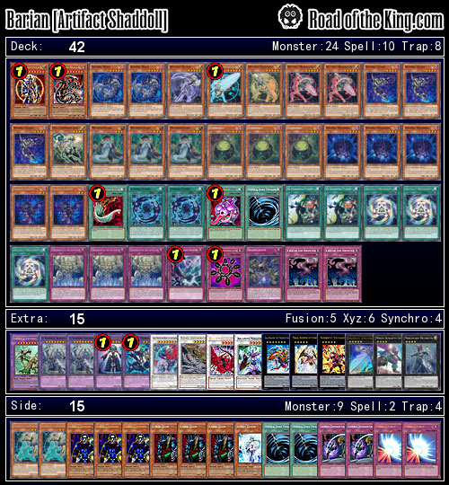 Ocg 2015 01 With Shaddoll Road Of The King