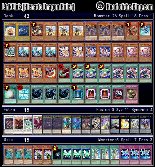 OCG 2015.01 with Dragon Ruler - Road of the King