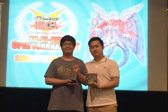 Yu-Gi-Oh! Open Tournament Singapore 2015 Champion Hou Chong
