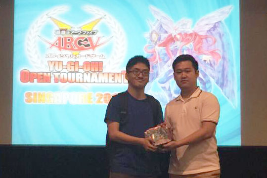 Yu-Gi-Oh! Open Tournament Singapore 2015 Asia Premier Champion Yu Bixuan