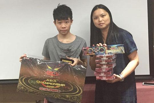 Asia Championship Qualifier 2015 - Hong Kong Champion (JP)Law Ming Fung