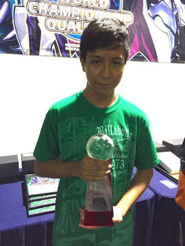 Dragon Duel Central America Champion 2015
