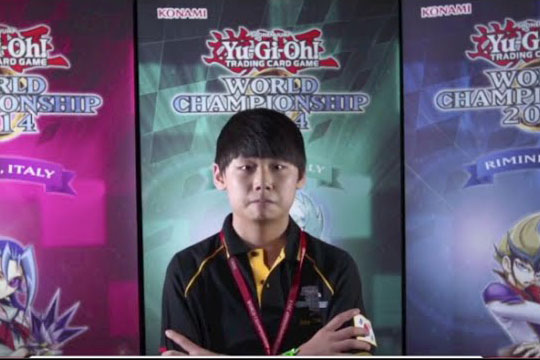 Dragon Duel World Champion 2014 Kim Chan-ho