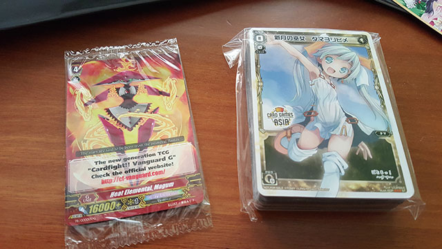 Cardfight!! Vanguard Promo Card and Wixoss Trial Deck