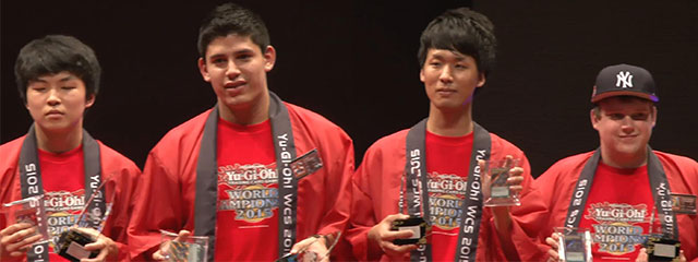 World Championship 2015 Top 4