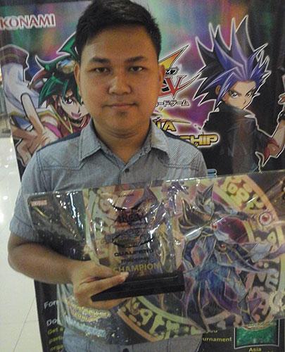 Asia Championship Qualifier 2016 - Philippines Champion Louren Vidad